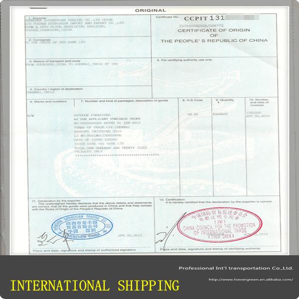 Certificate Of Origin For Us Ups Mandegarfo