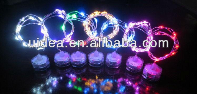 mini christmas lights battery operated led string lights - Battery Operated Mini Christmas Lights