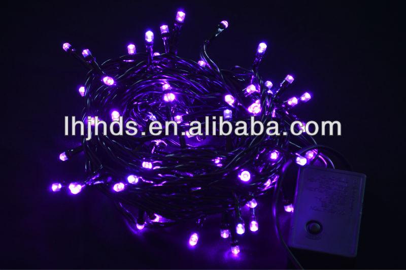 Christmas black light lights of blue color, View black light ...