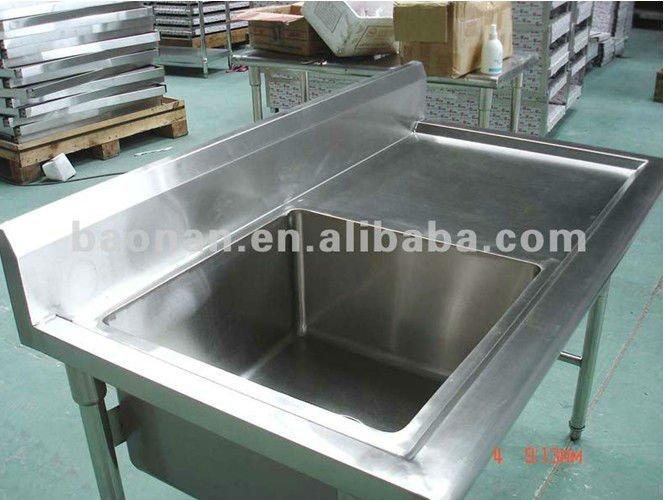 Restaurant Kitchen Sink Bench Bn-s09 - Buy Kitchen Sink Bench ...