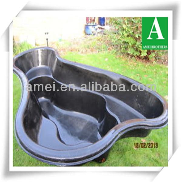 Circular box welded pond liner insert buy circular box for Garden pond insert