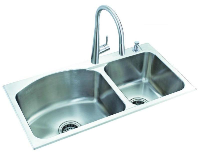 Sinks wholesale sink china sink kitchen sink bk 8617 - Kitchen sink clips extra long ...