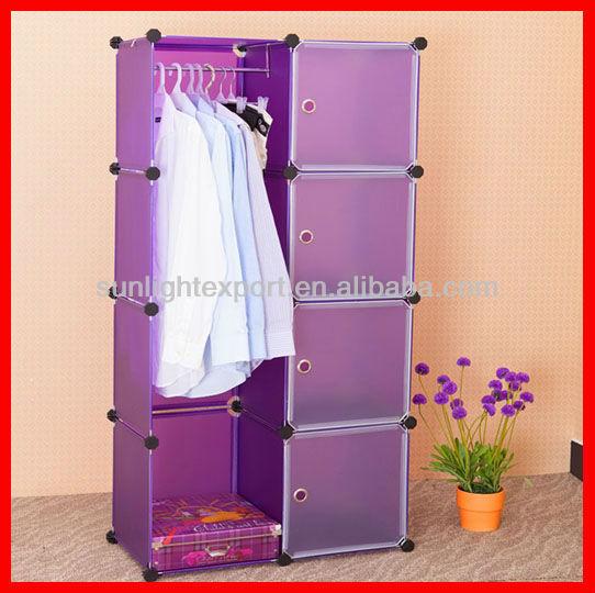 Pp Foldable Wardrobe Convenient Plastic Wardrobe Buy Foldable Wardrobe Plastic Clothes