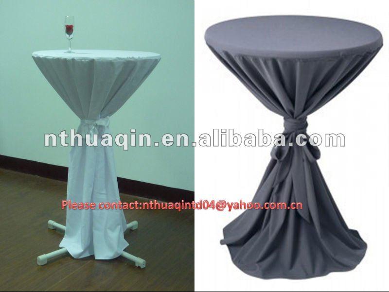 Scuba Bistro Table Cover Polyester Highboy Tablecloth Elastic Bar