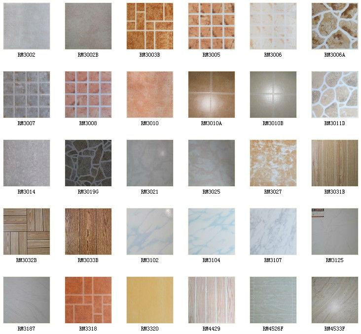 Hot sale floor tile for living room 300 300mm for Losetas para piso interior