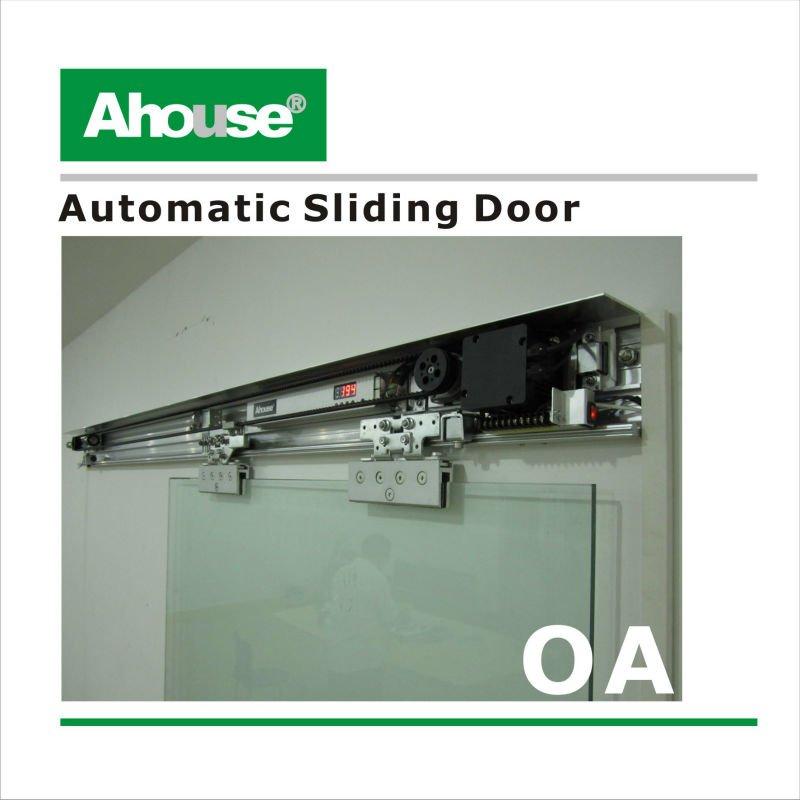Automatic Sliding Door System Air Conditioner Glass Door