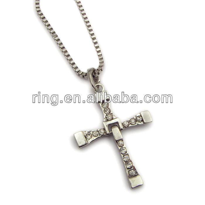 fast five 5 necklace dominic toretto cross pndant buy