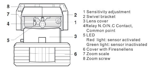 Universal Genie Security Garage Door Open Sensors View