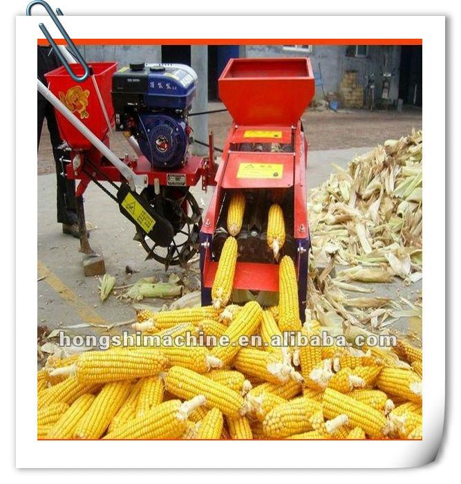 corn stripping machine