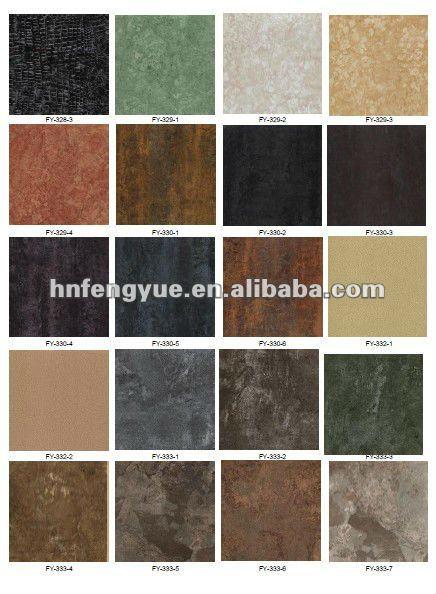 Marble plastic sheet pvc floor tiles design marble vinyl for Vinyl square floor tiles