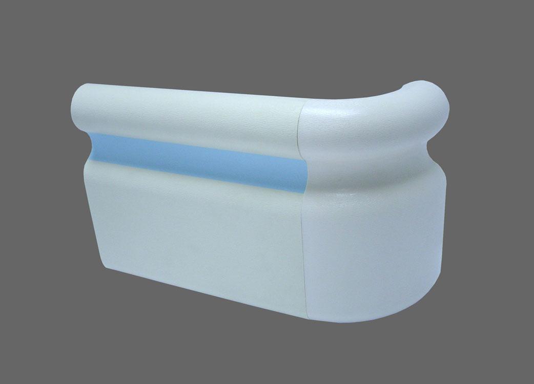 Pvc Wall Handrails : Pvc hospital handrail view wall protect