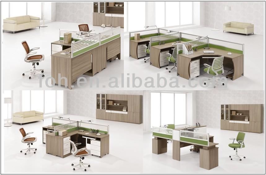 4 person workstation desk hostgarcia - Quality home office desk ...