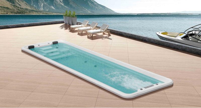 6 Meter Hot Tub Above Ground Pool Swim Spa View Balboa