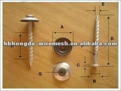 Concrete Nails /black concrete nails supplier with best quality manufacture