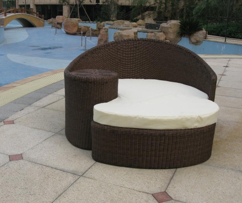 Outdoor rattan strand 2013 klassischen lounge liege buy for Lounge liege outdoor