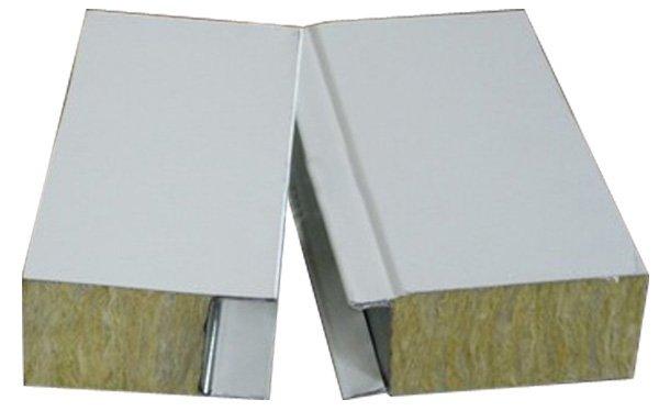 Sandwich Panel Cladding : Rock wool sandwich panel for wall cladding buy