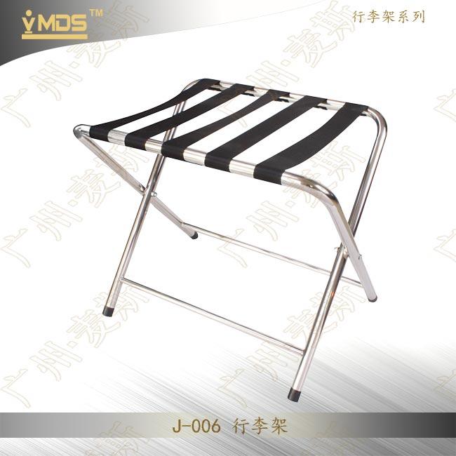 Superb Hotel Folding Metal Stainless Portable Tubular Luggage Rack