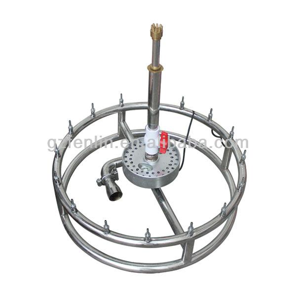 beautiful easy install portable fountain round shape
