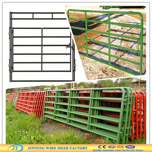 Galvanized heavy duty farm gates iso