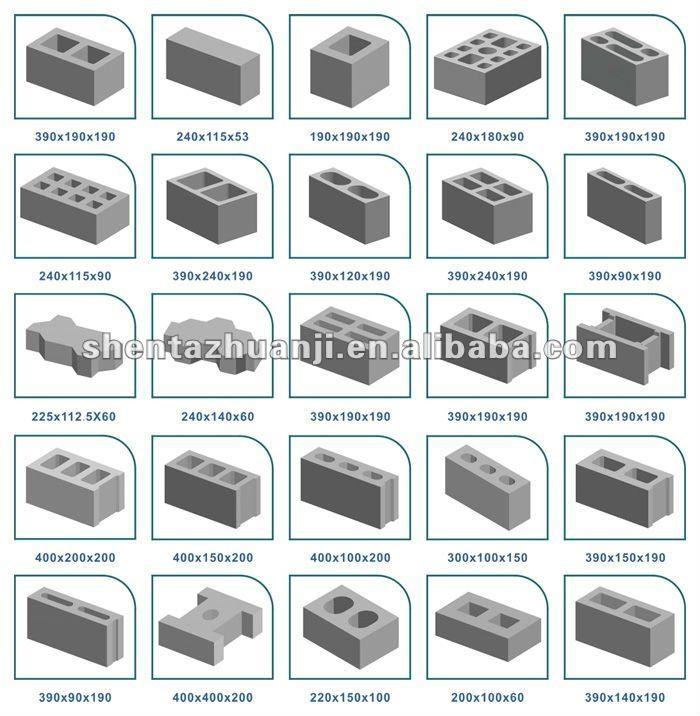 qtj4 50 moving block making machine concrete hollow block. Black Bedroom Furniture Sets. Home Design Ideas