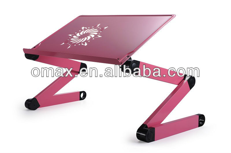 Aluminium Computer Desk Portable Bed Tray Book Stand