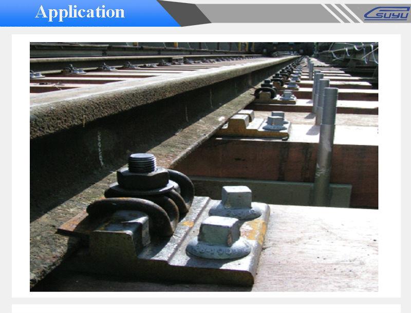 Linear Rail Brake : Cast iron brake block ht rail shoe for