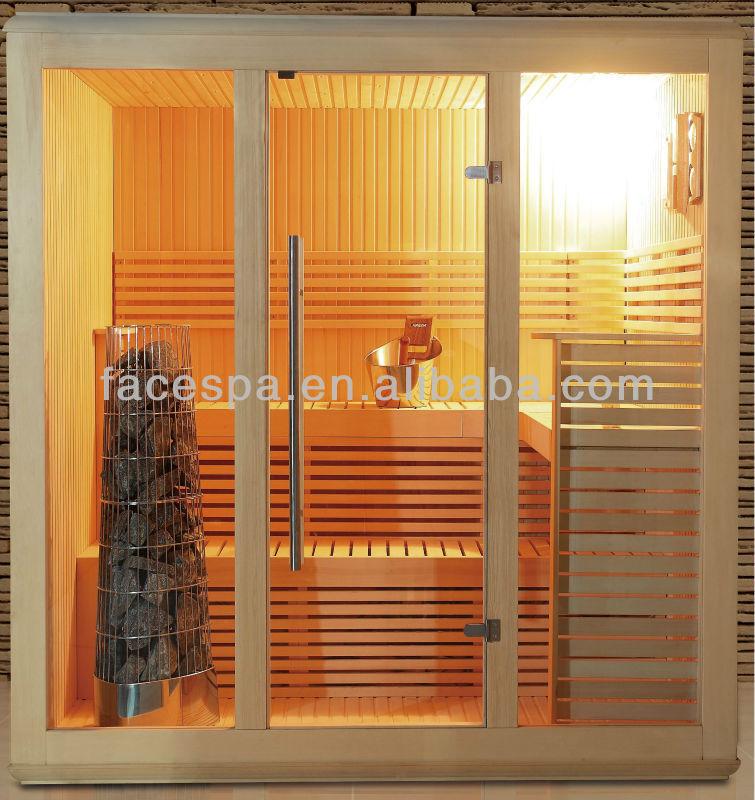 dry sauna kit new square shap sauan room fs 1202 ce view. Black Bedroom Furniture Sets. Home Design Ideas