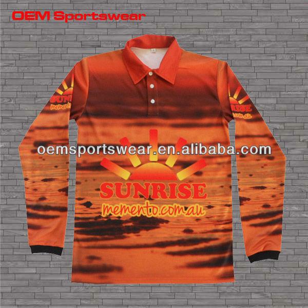 Cheap customized polyester fishing shirts wholesale view for Polyester fishing shirts