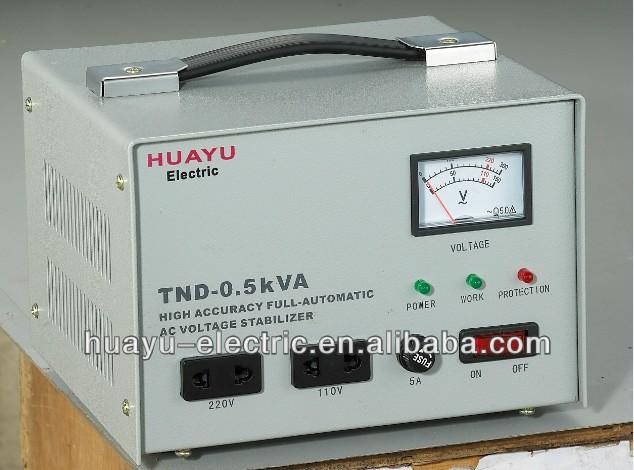 Single Phase Servo Motor 220v Ac Voltage Stabilizer View