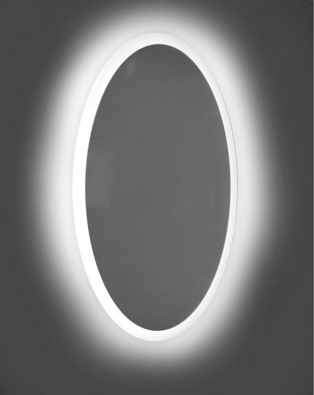 High quality led oval bathroom mirror with light buy for Miroir salle de bain high tech