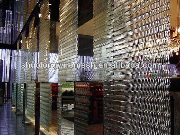 Decorative modern room divider partitions ideas restaurant decorative partit - Rideau cotte de maille prix ...