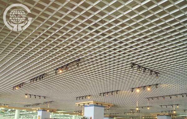 Aluminium Hanging Ceiling Tiles/open Metal Grid Ceiling - Buy Aluminium False Ceiling Tiles ...