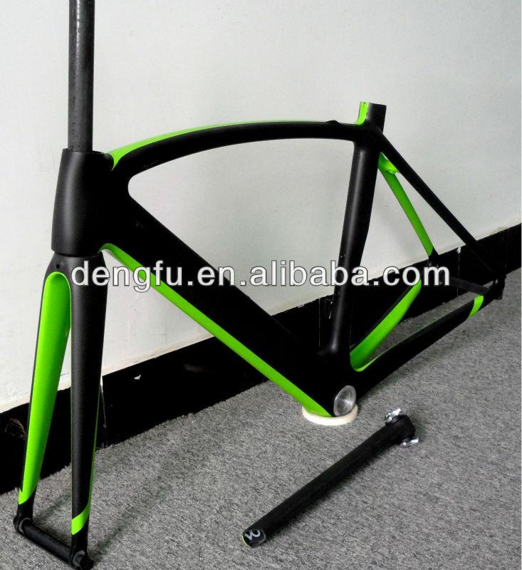Paint Bike Frame Matte Black