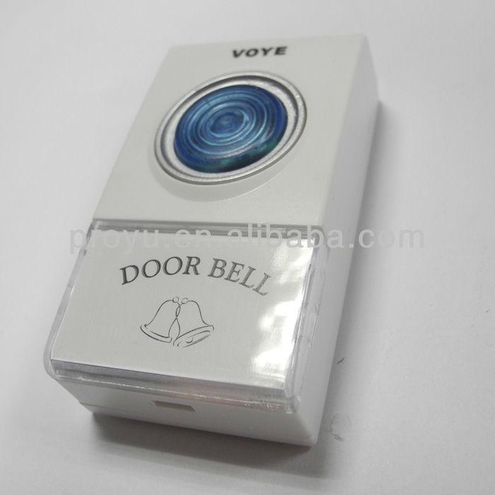 new 50 80meters wireless apartment door bell 433mhz built