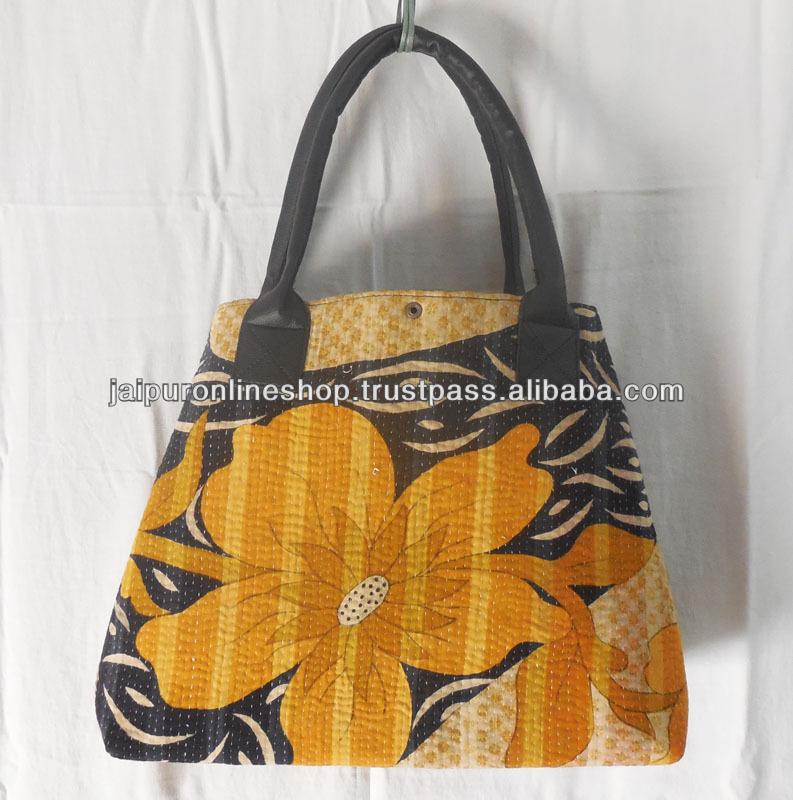 Tassen Ontwerpen Opleiding : Sadhu vintage kantha patchwork jhola zakken buy product