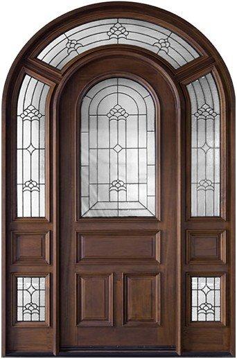 American arched luxury exterior doors style dj s6012m for Puertas en forma de arco