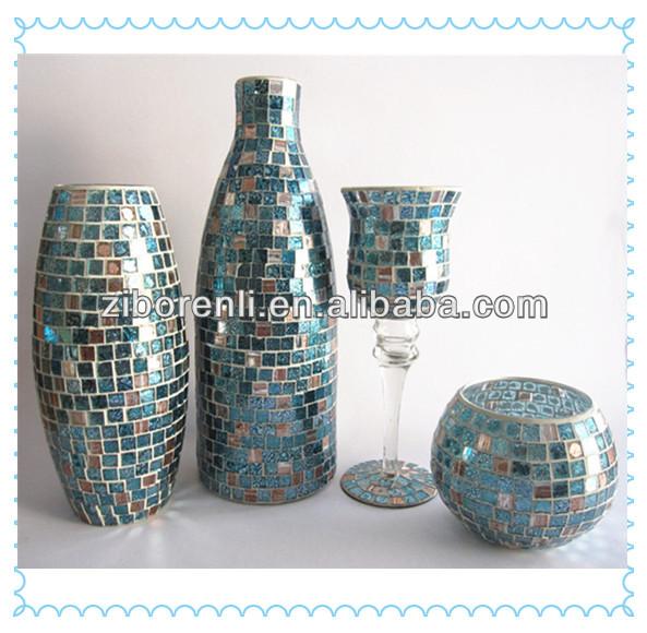 trommel design hand made braun hohe mosaic glas fliesen. Black Bedroom Furniture Sets. Home Design Ideas