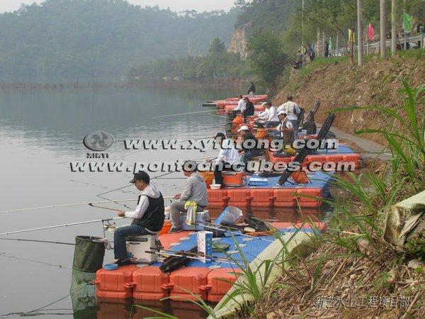 Fishing float making materials buy pontoon float for Floating fishing platform