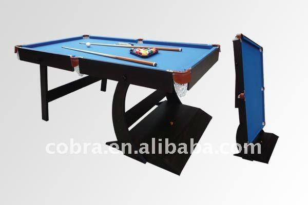 Kbl 08a11 cobra tavolo da biliardo pieghevole tessuto di lana con colore diverso buy tavolo - Tavolo da biliardo pieghevole ...