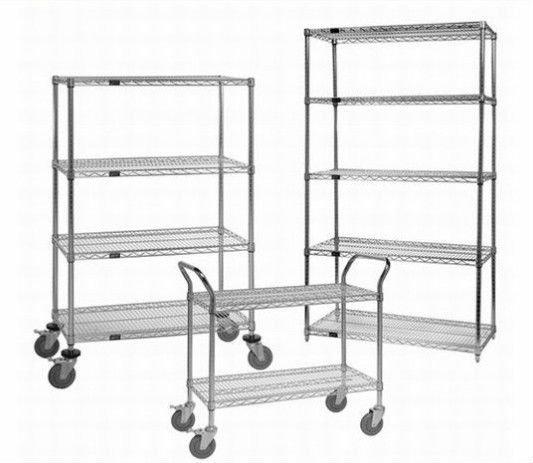 5 level heavy duty chrome kitchen shelving buy chrome. Black Bedroom Furniture Sets. Home Design Ideas