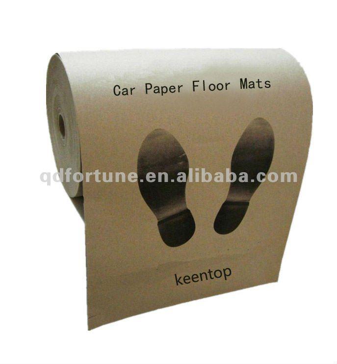 Paper Car Floor Mats For Cars Automobile Disposable Paper