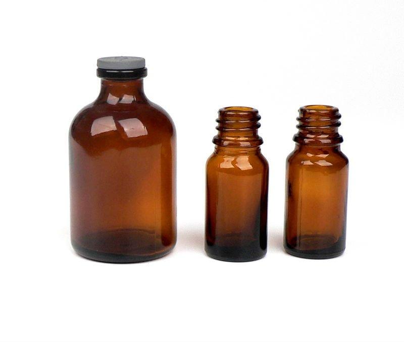 Brown Glass Ml Bottles
