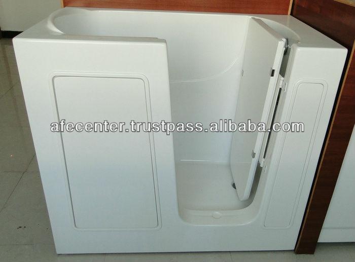 Small Walk In Bathtub Old People Tub Elderly Walk In Tub With Seat Portable W