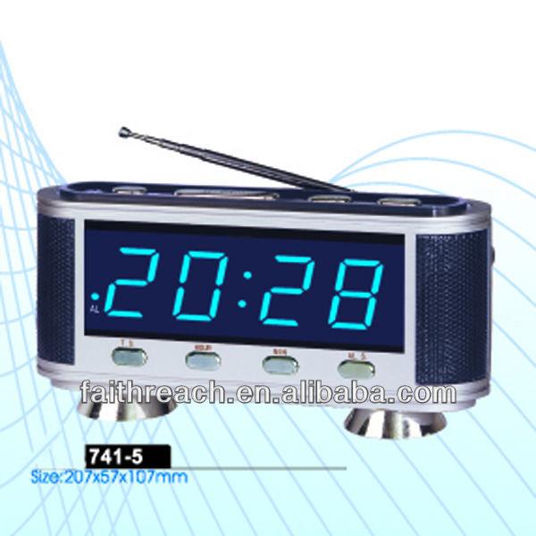low price led digital alarm clock with fm radio buy alarm clock with fm radio digital alarm. Black Bedroom Furniture Sets. Home Design Ideas