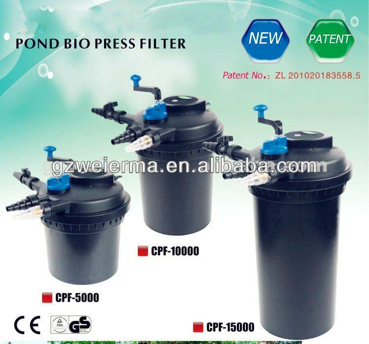 Sunsun pressure pond filter with built in 11w uv clarifier for Best pond pressure filter