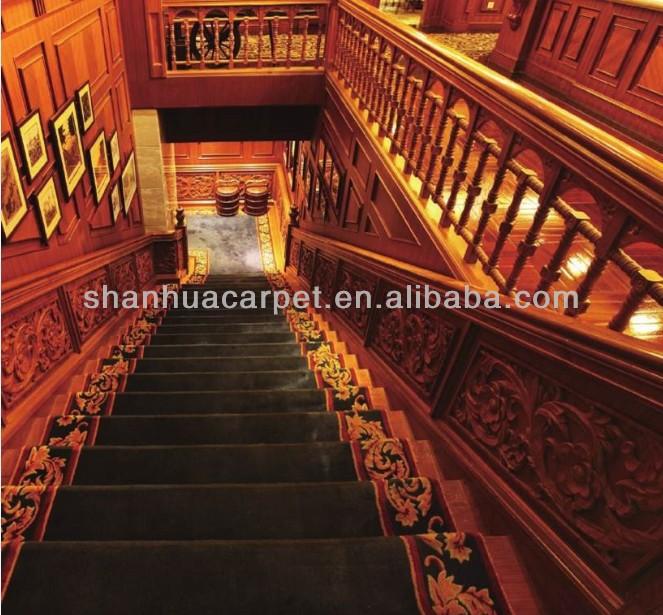 Durable carpet stair nosing view carpet stair nosing for Durable carpet for stairs