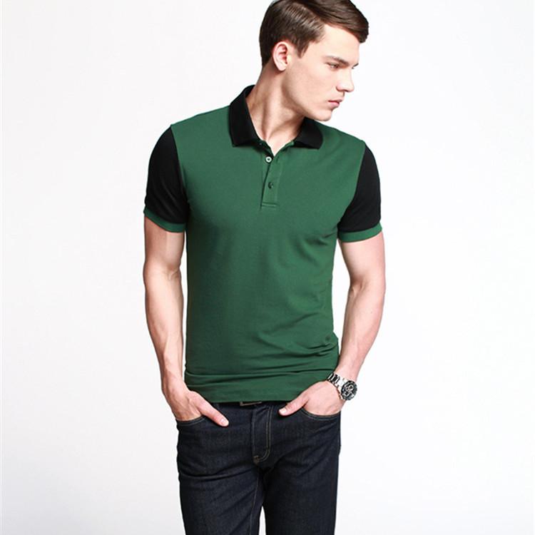 2014 trendy color combination polo shirt for men buy for Polo shirt color combination