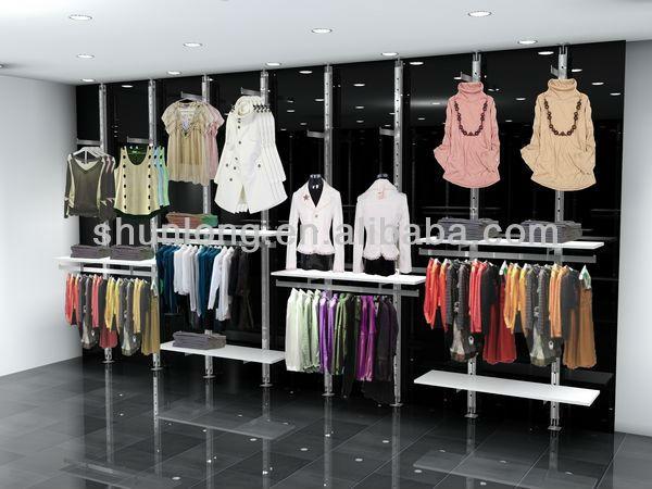 Tienda al por menor dise o interior decoraci n interior for Diseno de interiores almacenes de ropa