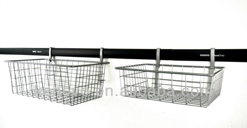 home garage storage wire basket gsh18 view garage. Black Bedroom Furniture Sets. Home Design Ideas