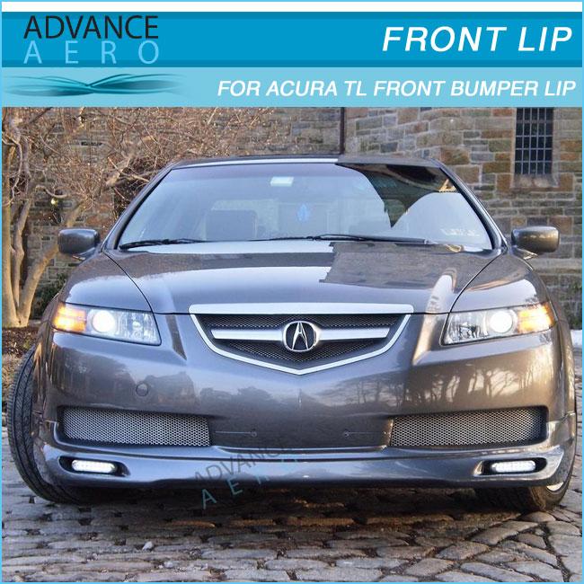 2008 Acura Tl Oem Style Lip Spoiler: FOR 04 05 06 ACURA TL MUG STYLE URETHANE FRONT BUMPER LIP